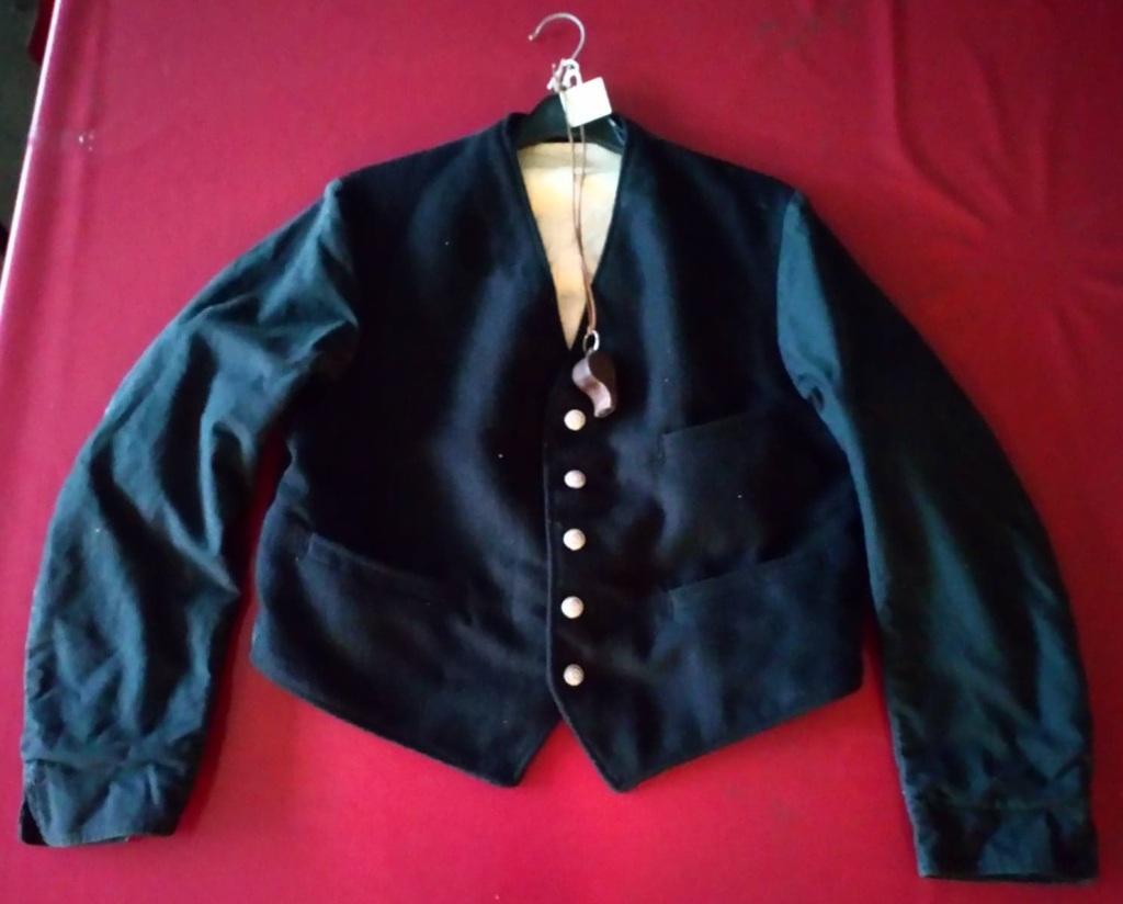 Jacket worn by a railway station porter.