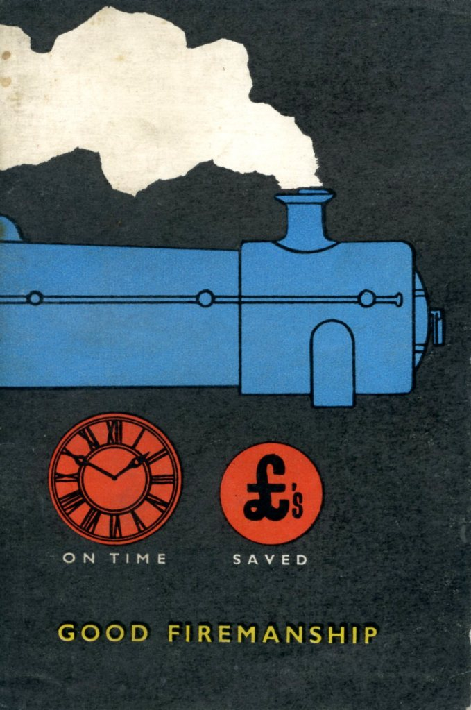 Front cover of a booklet - Good Firemanship (1956).