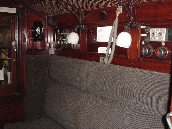 The Attendant's compartment inside Saloon 45000